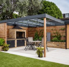 The pergola you choose will probably set the tone for your outdoor living space, so you will want to choose a pergola that matches your personal style as closely as possible. The style and design of your PerGola are based on personal Pergola Carport, Building A Pergola, Outdoor Pergola, Backyard Pergola, Pergola Plans, Backyard Landscaping, Pergola Kits, Modern Pergola, Pergola Lighting