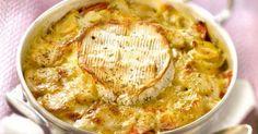 Une tuerie ! Le gratin aux pommes de terre et au camembert... Une recette, 100%…