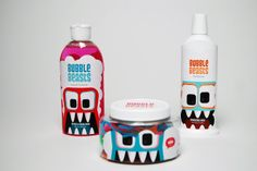 Bubble Beasts kids product - packaging