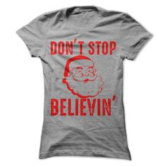 Don't Stop Believin In Santa