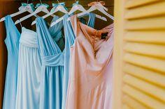 Bridesmaids dresses | Pastel bridesmaids dresses | Lebanese Wedding Athenian Riviera | Elegant Wedding | Luxury Weddings | Greek Island Weddings | Destination Wedding