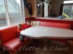 PINK 50's Diner Booth