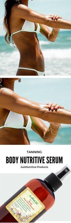 Body Nutritive Serum - Get the fast dark and long lasting tan.