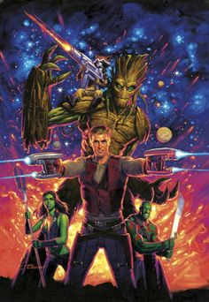 Guardians of the Galaxy - Greg Hildebrandt