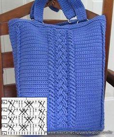 12 Encantadores Bolsos en Crochet con Patrones - Manualidades Y DIYManualidades Y DIY
