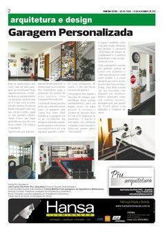 13° Publicação Jornal bom dia – Garagem Personalizada  25 -11-11