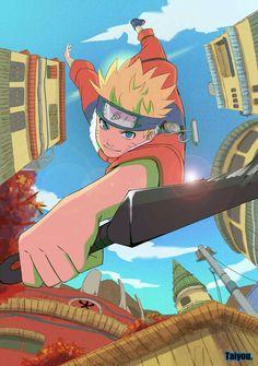 Naruto Uzumaki from the Naruto anime and manga Naruto Shippuden Sasuke, Wallpaper Naruto Shippuden, Naruto Gaiden, Gaara, Kakashi, Sasunaru, Naruhina, Narusaku, Fan Art Naruto