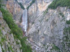 Boka Waterfall - Bovec