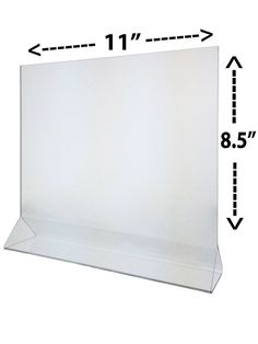 Ad Sign Frame Stand Holders Top Load Table Tent Pak of 12 Plastic x 8 Acrylic Frames, Clear Acrylic, Marketing Ideas, Business Marketing, Frame Stand, Frame Display, Counter, Tent, Literature