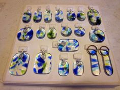 I've been playing around with fused glass for the past month or two, doing test firings and learning the best way to get the results I want. This is going to be a new line of jewelry! I plan…