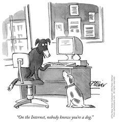 En Internet nadie sabe que eres un perro, ¿o sí?