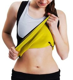 Roseate Women's Body Shaper Tummy Fat Burner Sweat Tank Top Weight Loss Workout Shapewear Sauna Girdles Material: 70% Neoprene, 15% Polyester, 15% Nylon. The high-performance smart fabric conforms to any shape and figure, provides comfortable fit, allowing you to have freedom to move while working out.   #BellyBands #Clothing #Intimates #Maternity #Shoes&Jewelry #Women