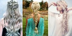 Some out-of-this-world braids in platinum shades and colors! Enjoy this unique gallery!