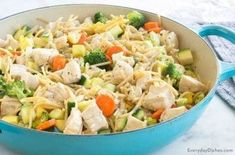 Sautéed Chicken with Veggies Recipe Grilled Zucchini Recipes, Veggie Recipes, Dinner Recipes, Healthy Recipes, Healthy Dinners, Chicken Recipes, Angel Hair Pasta Recipes, One Dish Dinners, Entrees