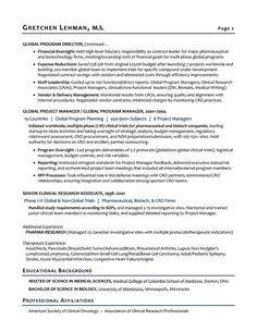 resume writing service biotech