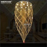 Ronda Crystal Chandelier Light Fixture Ambar Cristal Lampara Del