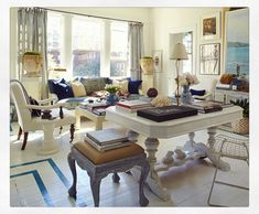 Living room by William R. McLure IV
