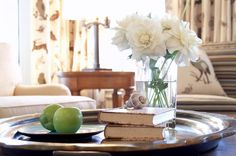 Coffee table tops are like blank canvases, waiting for you to build your beautiful displays. Create an arrangement that expresses your style and showcases your interests.