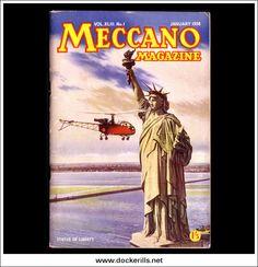 Meccano Magazine XLIII No.1 January 1958 Collectible | hobbyDB
