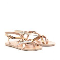 mytheresa.com - Ancient Greek Sandals - SEMELE LEATHER SANDALS - Luxury Fashion for Women / Designer clothing, shoes, bags