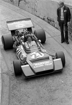 Derek Bell(GBR) drives the Tecno back through the tunnel to the paddock German GP, Nurburgring, 1 August 1972 Tecno, 1 August, F1 Drivers, Indy Cars, Race Cars, German, Racing, Sport, Motorbikes