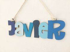 Excited to share this item from my #etsy shop: Baby boy wall name sign, Wood sign for nursery, Baby room wall hanging,Wood name nursery sign,Baby room wall decor, Wooden name wall hanging