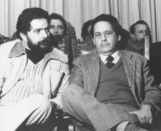Pessoas incríveis juntas | Lula e FHC início dos anos 1980 num encontro para...