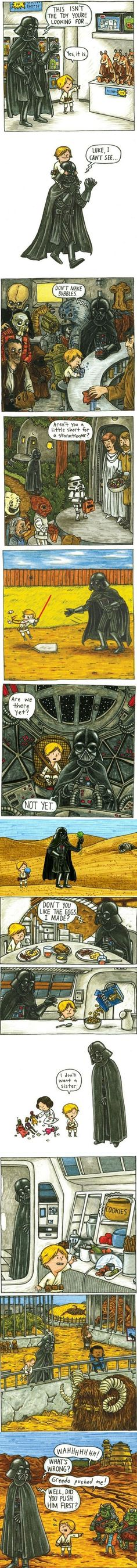 If Darth Vader Was A Nice Guy