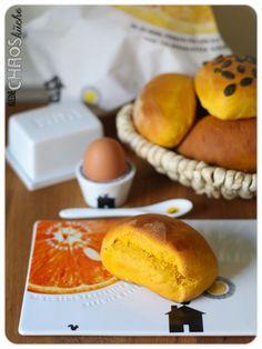 Kürbis Brötchen Kürbisbrötchen Pumpkin buns