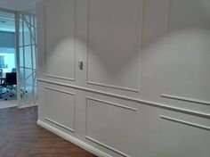 Beautiful commercial wainscoting