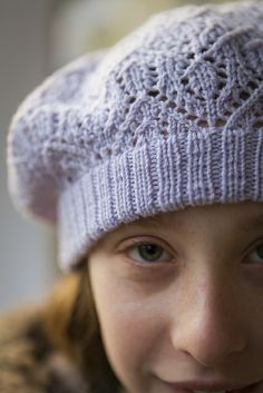 Ravelry: G-knits' Pale Iris -   Avonlea hat pattern