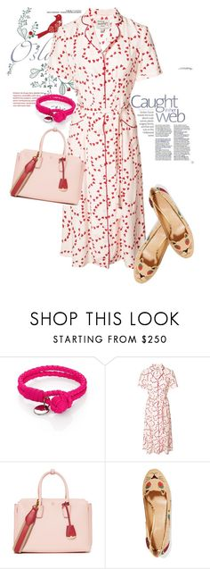 """dress"" by masayuki4499 ❤ liked on Polyvore featuring Bottega Veneta, HVN, MCM and Charlotte Olympia"