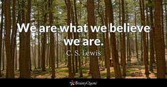 C. S. Lewis Quotes - BrainyQuote