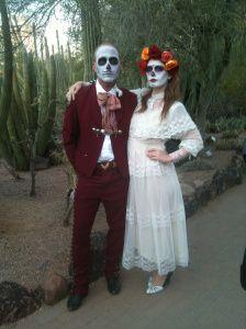 Love the costumes for this holiday #dia de los muertos #skulls # Phoenix #Arizona #fall