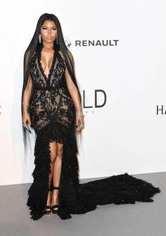 Nicki Minaj en Roberto Cavalli Couture