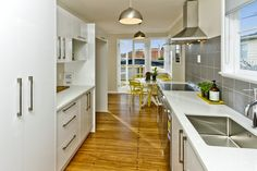 Styling by Places and Graces. Photos courtesy of Harcourts. My House, Beach House, Kitchens, Kitchen Cabinets, House Design, Style Inspiration, House Styles, Places, Room