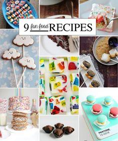 9 Fun Food Recipes to Bookmark!
