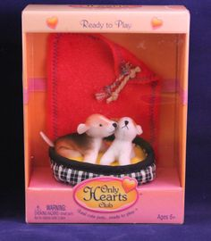 Only Hearts Club Two Dogs Patches Cupcake in Bed w Blanket Toys New | eBay