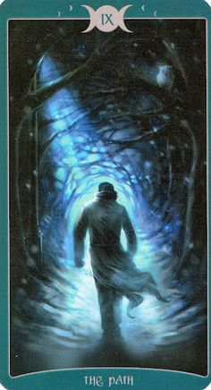 IX - The Path --- Book of Shadows Tarot (As Above)