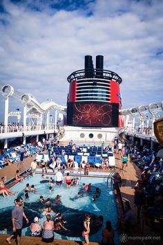 The top deck of the Disney Fantasy. #disneyfantasy #travel