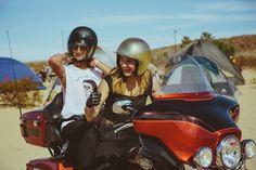 500 mulheres no encontro de motos Babes Rideout