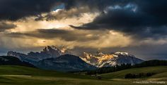 All sizes | Mountain light at sunset | Flickr - Photo Sharing!