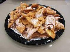 Khrustyky - Ukrainian pastry (as we called it as kids were elephant ears)