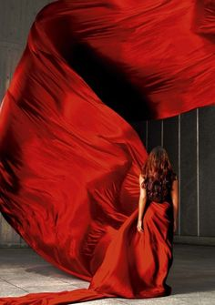 Carmen red dress lifedelight:  Christiane Palha