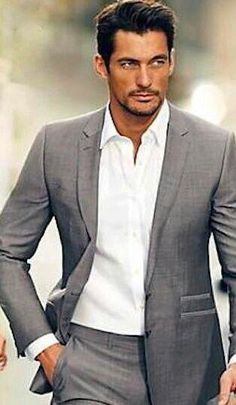 David Gandy Marks and Spencer 2014 Der Gentleman, Gentleman Style, Outfits Casual, Mode Outfits, Sharp Dressed Man, Well Dressed Men, Mens Casual Suits, Look Fashion, Mens Fashion
