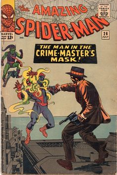 The Amazing Spider-Man Vol 1 #26 first appearance of the Crime Master.