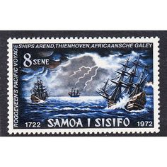 Samoa 1972 250th Anniv. of discovery of Samoa - Sailing ships Unmounted Mint Listing in the Samoa,Commonwealth & British Colonial,Stamps Category on eBid United Kingdom | 144042341
