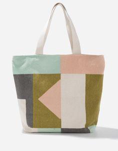 Bolso shopper multicolor | BEACHWEAR | SHOP ONLINE BLANCO.COM