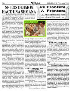 ISSUU - #02 07022014 año digital 7, año impreso 4 de Manuel de Jesus Ruiz Nettel