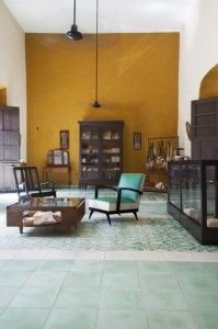 Dutzi Design in Valladolid, Mexico. Ariane Dutzi's Retail Space Colorful Decor, Colorful Interiors, Mustard Walls, Sweet Home, Style At Home, Home Fashion, Fashion Outfits, Interior Inspiration, Design Inspiration